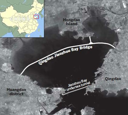 World S Longest Sea Bridge Opens In Qingdao China Urban