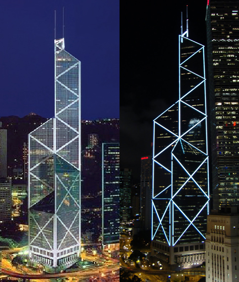 Illuminating Hong Kong's Bank Of China Tower » China Urban